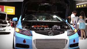 bisimoto wagovan walk around with bisi 1000 hp 2012 honda civic si sema 2011