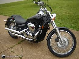 2007 honda shadow spirit 750 black id 11988