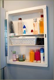Bathroom Cool Lowes Medicine Cabinets For Bathroom Furniture In by Bathroom Exciting White Lowes Medicine Cabinets With Single Shelf