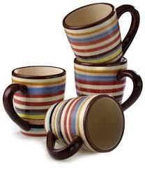 tabletop lifestyles sedona 16 ounce mug set of 4