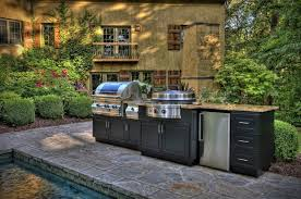 outdoor kitchen island kitchen outdoor kitchen idea with black grill kitchen island