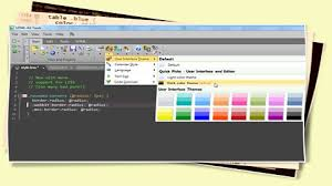 colors home page html editor