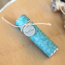 thank you favors aqua wedding favors mint favors thank you charm party favor