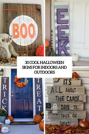 30 cool halloween signs for indoors and outdoors digsdigs