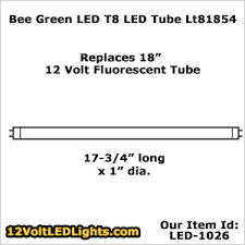 18 inch fluorescent light led replacement 12 volt led tube replaces problematic flickering or slow starting 18