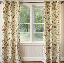 Jacobean Floral Curtains Plow Hearth Jacobean Thermalogic Floral Room Darkening Thermal