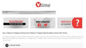 vodacom airtime visit vtime co za buy vodacom airtime and vodacom data bundles