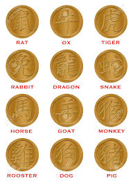 new year gold coins twelve new year zodiac gold coins illustration stock photo
