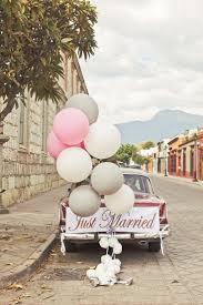 balloon car linentablecloth blog wedding decor pinterest