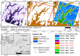 Snow Coverage Map Remote Sensing Free Full Text Identifying Changing Snow Cover