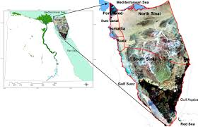 Sinai Peninsula On World Map by A Multidisciplinary Approach To Mapping Potential Urban