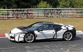 ferrari prototype hybrid ferrari 488 prototype shows up on nurburgring hides engine