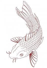 Koi Fish Tattoos Meanings Simple Koi Fish Sketch Tats Koi Fish