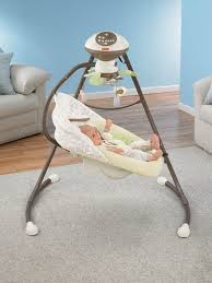 Smart Table Price by Fisher Price Snugabunny Cradle U0027n Swing With Smart Swing