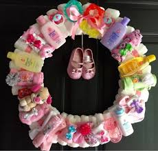 the ultimate diaper wreath tutorial crafts homemade items diy baby shower giftdiy