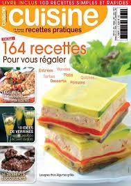 magazine de cuisine magazine cuisine recettes pratiques