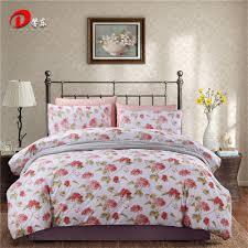 popular red floral bedding set buy cheap red floral bedding set