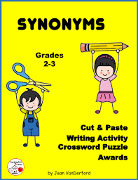 synonyms in sentences proofreading language arts writing