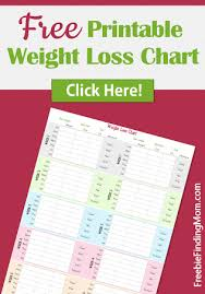 printable weight loss diet chart free printable weight loss chart weight loss chart free printable