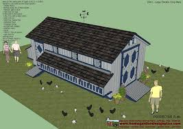 large chicken house plans free house plans