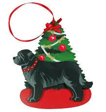 newfoundland dog lover christmas ornaments u2013 for the love of