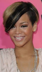 bob haircuts that cut shorter on one side skin treatment 10 trendy and quirky rihanna s bob hairstyles