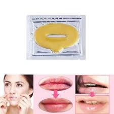 K Collagen 5pcs new 24 k collagen gold lip plumping masks lip mask collagen