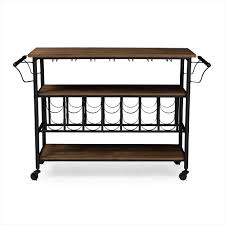 Dining Room Serving Cart by Baxton Studio Wholesale Wine Cabinets Wholesale Dining Room
