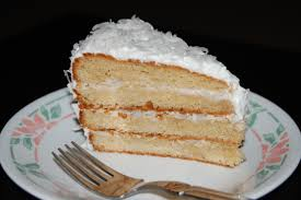 alton browns coconut cake with 7 minute frosting recipe genius