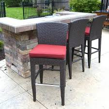 Patio Bar Height Table And Chairs by Counter Height Outdoor Patio Sets Counter Height Patio Stool
