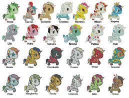 unicorno kawaii tokidoki 25 unicorns machine embroidery