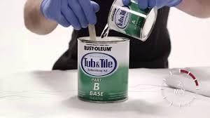 Rustoleum Bathtub Refinishing Paint How To Paint Your Bath Tub And Tiles With Rust Oleum Tub U0026 Tile