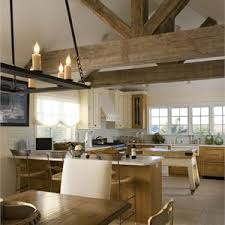 country rustic country light dining room photos