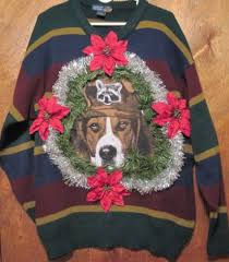 sweater with dogs on it some of the ugliest sweaters on the motley