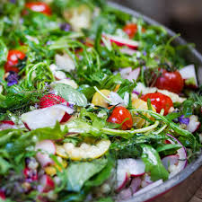 Garden Salad Ideas Roasted Lemon And Fregola Salad Recipe Salad Lemon And Cherry