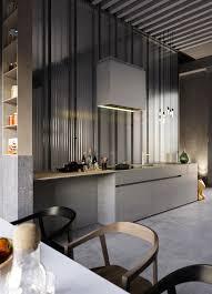 design fascinating grey and plastic kitchen corrugated walls