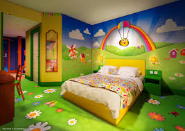 alton towers cbeebies land hotel themed bedrooms unveiled the grown up section of the bugs room at the cbeebies