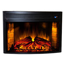 Comfort Flame Fireplace Comfort Smart Verve 24 In Curved Electric Fireplace Insert Cs 501625