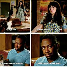 New Girl Memes - i m in love with his parents jess and winston newgirl