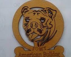 your american bulldog sculpted porcelain clay custom