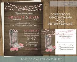 western wedding invitations cowboy themed wedding invitations cloudinvitation