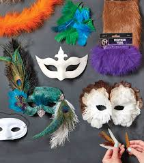 diy halloween costumes peacock mask u0026 owl mask joann