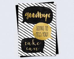farewell card template word printable farewell goodbye card goodbye going to miss you