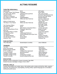 Free Acting Resume Template Download Docs Resume Template Resume Cv Cover Letter