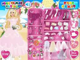 dress games celebrities barbie barbie perfect bride dress
