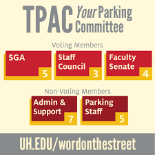 Committee by Transportation And Parking Advisory Committee Tpac University