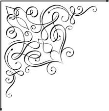corner pattern png floral corner vector element royalty free stock image storyblocks