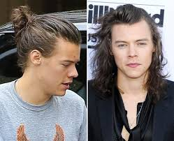 top knot mens hairstyles celebrity male hairstyles top knot or flop knot capital