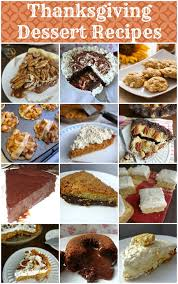 the cooking thanksgiving dessert recipes up