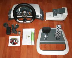 xbox 360 steering wheel xbox 360 wireless racing wheel